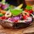 巨人 · 詰まった · キノコ · トマト · 食品 - ストックフォト © brebca