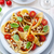 pasta with vegetable stew stock photo © brebca