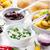 gebakken · zure · room · aardappel · voorjaar · ui - stockfoto © brebca