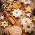 christmas stollen with cookies stock photo © brebca