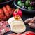 チーズ · 前菜 · 前菜 · ボード · 肉 - ストックフォト © brebca
