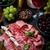 вино · копченый · мяса · изолированный · белый · фон - Сток-фото © brebca