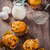 homemade muffins with baking ingredients stock photo © brebca