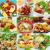 Healthy food collage stock photo © brebca