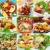 egészséges · étel · zöldség · gyümölcs · narancs · zöld - stock fotó © brebca