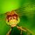 libélula · verde · azul · animal - foto stock © brm1949