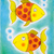 two golden fish childs drawing watercolor painting on paper stock photo © brozova