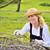 landbouw · boom · boomgaard · appelboom · hand - stockfoto © brozova