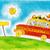 kleuterschool · kinderen · schilderij · papier · verf · kunst - stockfoto © brozova
