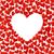 пусто · карт · красный · сердцах · изолированный · белый - Сток-фото © brozova