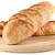 homemade bread on wooden breadboard stock photo © brulove