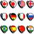 Brazília · Spanyolország · zászlók · puzzle · izolált · fehér - stock fotó © bruno1998