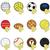sportok · golyók · ikon · szett · egyszerűen · ikonok · háló - stock fotó © bruno1998