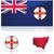 地図 · ニューサウスウェールズ州 · オーストラリア · 抽象的な · 背景 · 通信 - ストックフォト © bruno1998