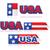 EUA · dia · conjunto · moderno · vetor - foto stock © bruno1998
