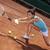 jovem · jogar · tênis · belo · tempo · bastante - foto stock © brunoweltmann