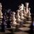 scacchi · bianco · vs · nero · legno · scacchiera - foto d'archivio © BrunoWeltmann