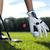 golf · topu · yeşil · alan · mükemmel · dalgalı · zemin - stok fotoğraf © brunoweltmann