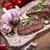 mükemmel · sığır · eti · hizmet · sebze · baharatlar - stok fotoğraf © brunoweltmann