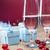 glas · rode · wijn · hart · roze · geschenkdoos · steeg - stockfoto © brunoweltmann