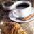 kawy · słodycze · drewniany · stół · studio · ciasto - zdjęcia stock © BrunoWeltmann