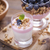 健康 · 朝食 · ヨーグルト · ブルーベリー · ガラス · 布 - ストックフォト © brunoweltmann
