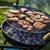барбекю · три · оранжевый · обеда · красный - Сток-фото © brunoweltmann