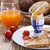 szalonna · tojás · sült · rántotta · pirítós · kenyér - stock fotó © brunoweltmann