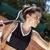csinos · teniszező · labda · napos · idő · sport · fitnessz - stock fotó © brunoweltmann
