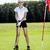 jovem · jogador · de · golfe · homem · esportes · verão · diversão - foto stock © brunoweltmann