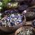 antigua · medicina · china · hierbas · flor · madera · médicos - foto stock © BrunoWeltmann