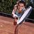 ハンドボール · 少女 · 女性 · プレーヤー · ボール · 女性 - ストックフォト © brunoweltmann