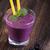 tasty blueberry shake on wooden table stock photo © brunoweltmann