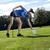 довольно · девушки · играет · гольф · трава · лет - Сток-фото © BrunoWeltmann