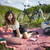 портрет · две · женщины · области · пейзаж · весело · цвета - Сток-фото © brunoweltmann