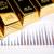 goud · bars · grafieken · statistiek · geld · metaal - stockfoto © BrunoWeltmann