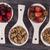 tasty breakfast strawberries cherries and cereal stock photo © brunoweltmann