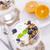 delicioso · sobremesa · frutas · mesa · de · madeira - foto stock © brunoweltmann