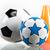 voetbal · hemel · 3d · render · sport · voetbal - stockfoto © brunoweltmann