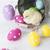 Pasen · kip · eieren · decoratie · witte · vintage - stockfoto © brunoweltmann