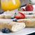 pancake · frutti · zucchero · a · velo · fragola · colazione - foto d'archivio © brunoweltmann