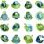 globo · verde · abstrato · ilustração · em · torno · de - foto stock © brux
