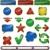 web · navigation · icônes · coloré · ordinateur · mail - photo stock © brux