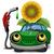 автомобилей · бензина · вверх · нефть · газ · Cartoon - Сток-фото © brux