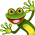 merry green frog stock photo © brux
