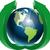 földgömb · zöld · nyilak · illusztráció · absztrakt · kék - stock fotó © brux