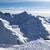 Kaukázus · hegyek · kilátás · este · égbolt · tájkép - stock fotó © bsani