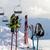 protective sports equipments on ski poles at ski resort stock photo © bsani