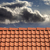 Roof tiles and storm sky stock photo © BSANI