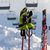 gloves on ski poles at ski resort stock photo © bsani
